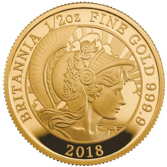 2018 イギリス ブリタニア金貨【3枚】セット プルーフ 箱とクリアケース付き 新品未使用