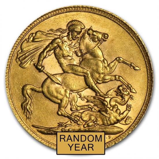 Gold British Sovereign AGW .2354 金貨 クリアーケース付き