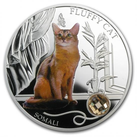 2013 フィジーシルバー犬&猫シリーズ ソマリ