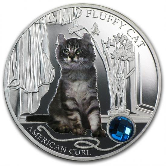 2013 フィジーシルバー犬&猫シリーズ アメリカンカール