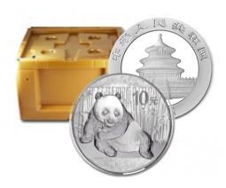 2015年 パンダ銀貨1オンス600枚セット モンスターBOX付き