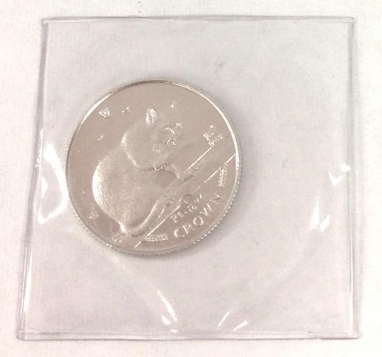 マン島キャットプラチナ1999年製 1/10オンス A