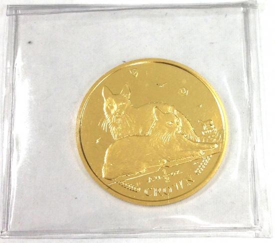 マン島キャット金貨2011年製 1/2オンス D
