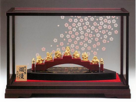 【内閣総理大臣賞受賞 金工作家 光 則 作】純金 LPC 爛漫 45g (400×220×270mm)