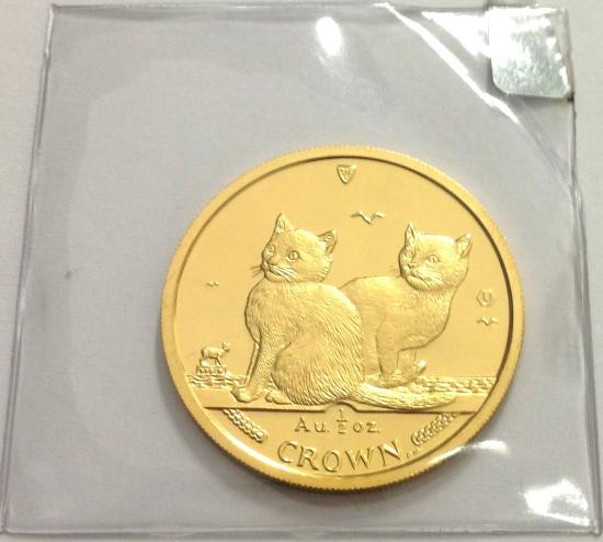 マン島キャット金貨2003年製 1/2オンス A