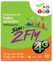 宅急便で発送 海外旅行 出張におススメ ヨーロッパ周遊 アジア周遊 プリペイド 3G 4Gデータ通信 Sim2Fly 付与 899B お求めやすく価格改定 SIMカード 15日間4GBデータ定額