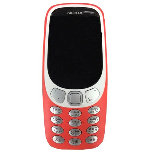 ガラケーSIMフリー携帯!Nokia 3310 3G  【復刻したNokiaガラケーストレート携帯】