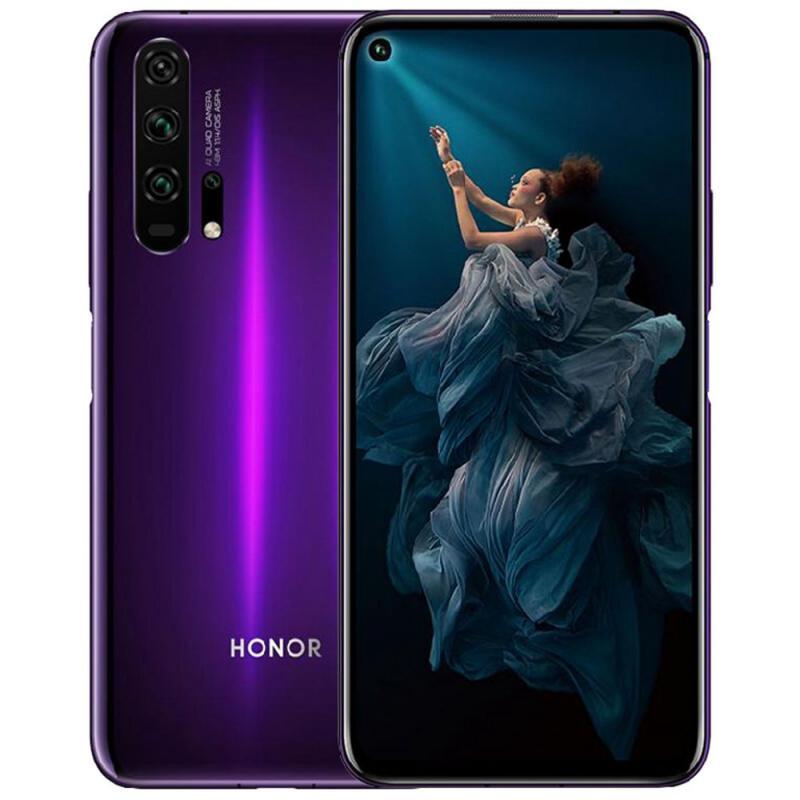 Honor 20 Pro 海外SIMフリースマホ【綺麗な背面デザイン!6.26インチディスプレイ】