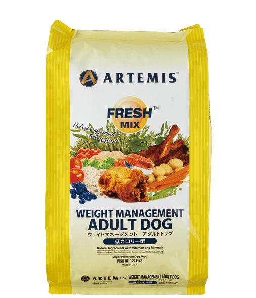 ARTEMIS FRESH MIX (アーテミス フレッシュミックス)ウェイトマネージメント アダルトドッグ 13.6kg ※DM便不可※お取り寄せ商品※