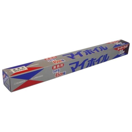 マイホイル 超厚型25μ スーパーワイド 45cm×30m 12本入●ケース販売お徳用