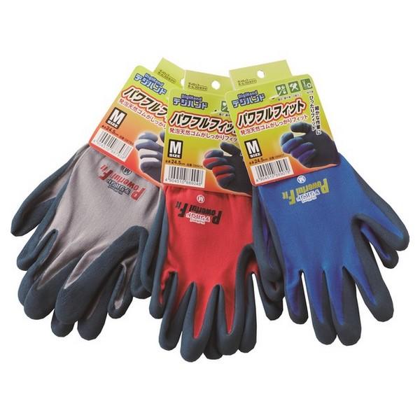 ダンロップ デジハンド パワフルフィット 手袋 10双×12袋(120双)【取り寄せ商品・即納不可・代引き不可・返品不可】