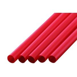 ストレートストロー 8mm×21cm 包装なし 赤色 300本入×20箱【メーカー直送・代引き不可・時間指定不可】
