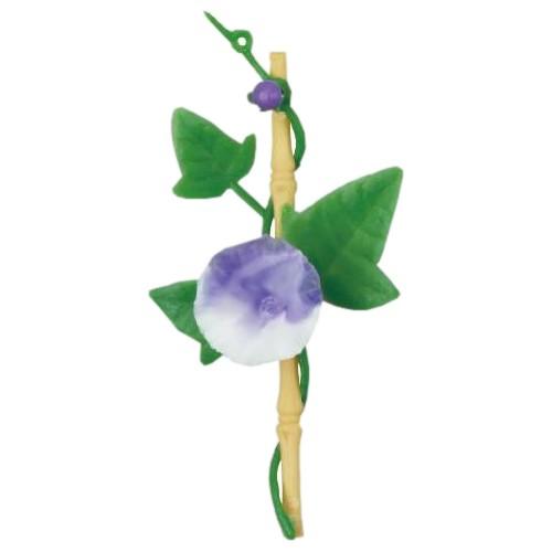造花 竹付朝顔(紫) DK-87 250入【取り寄せ商品・即納不可】