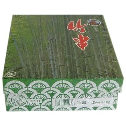 竹串 15cm Ф2.5mm 1kg×24箱入●ケース販売お徳用