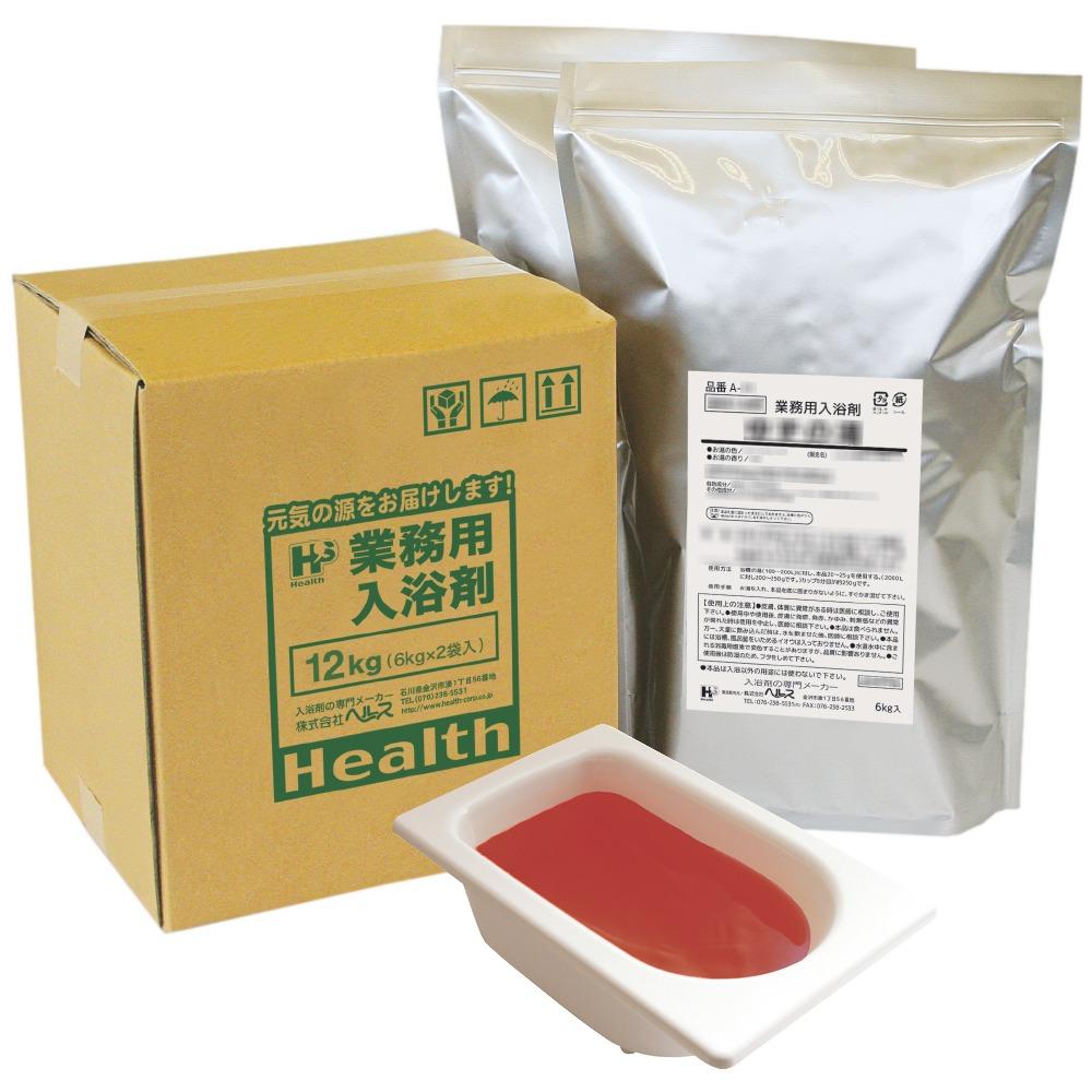 業務用入浴剤 A-44 生薬の湯 薬健湯(ヤッケントウ) 12kg(6kg×2袋)【メーカー直送または取り寄せ】