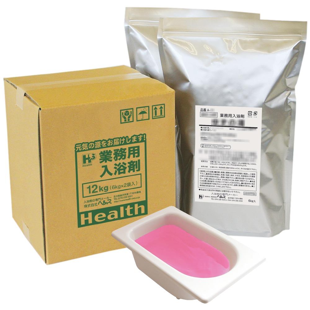 業務用入浴剤 A-29 四季の彩り 桜の湯(春) 12kg(6kg×2袋)【メーカー直送または取り寄せ】