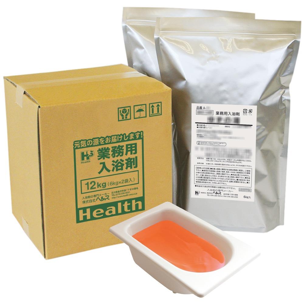業務用入浴剤 A-33 美肌スキンケア カモミールのお風呂 12kg(6kg×2袋)【メーカー直送または取り寄せ】