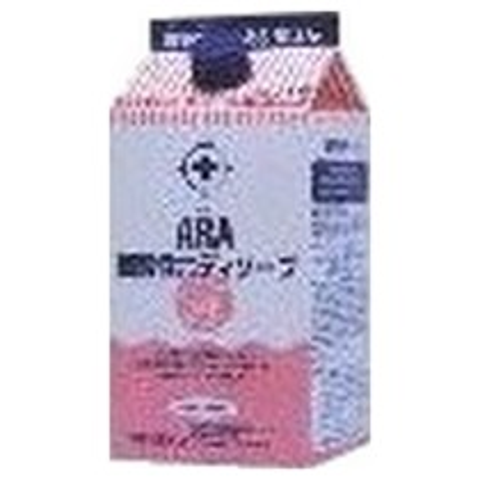 ARA 弱酸性ボディソープ (詰替え用) 1000ml×12入り●ケース販売お徳用【取り寄せ商品・即納不可】