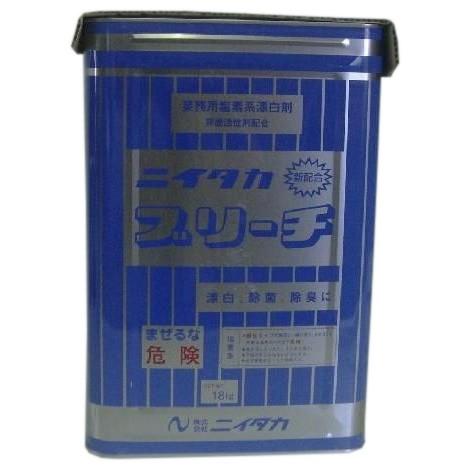 ニイタカブリーチ 18kg×10缶ロット【メーカー直送・代引き不可・時間指定不可・個人宅配送不可】