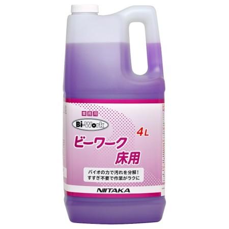 ニイタカ 微生物製剤 ビーワーク 床用 濃縮タイプ 4L