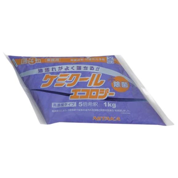 ニイタカ 油汚れ用洗浄剤 ケミクールエコロジー 濃縮タイプ 1kg×4袋入