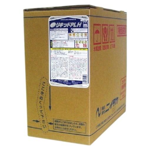 ニイタカ (業務用食器洗浄機用洗浄剤) リキッドPLH扁平ハイテナー 18kg (液体)