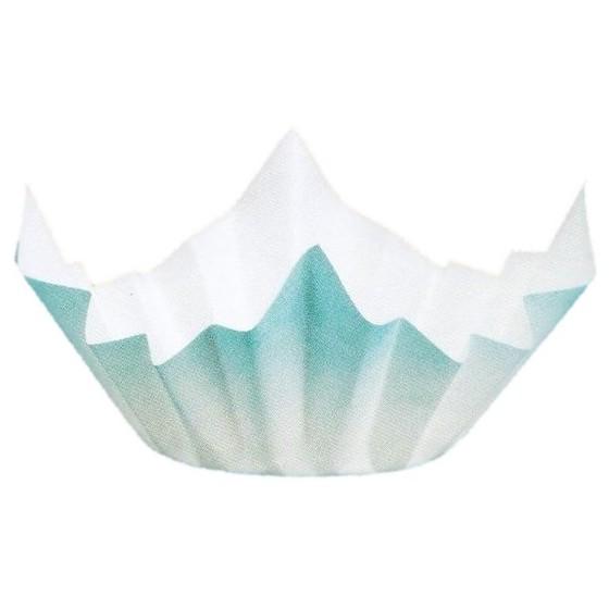 紙鍋 SKA-150 ミニ色和紙鍋(水色) 250枚入×6箱(1500枚)【取り寄せ商品・即納不可】
