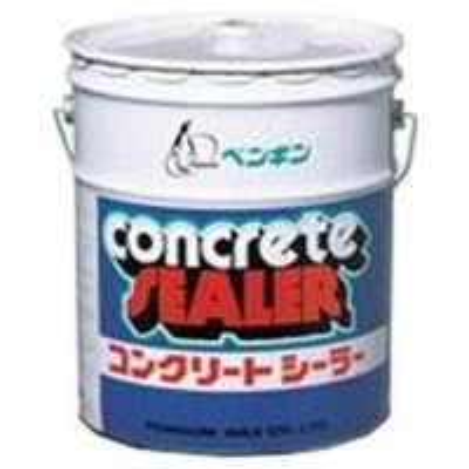 ペンギンワックス コンクリート・テラゾー用シール剤 コンクリートシーラー 18L