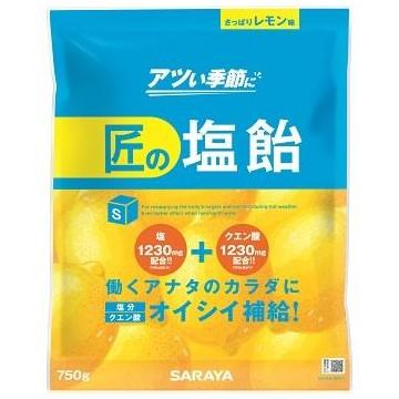 匠の塩飴 レモン味 750g×10袋入●ケース販売お徳用