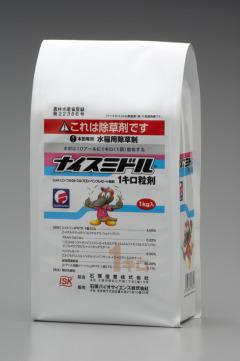【送料無料】ナイスミドル1キロ粒剤 1kgX12袋