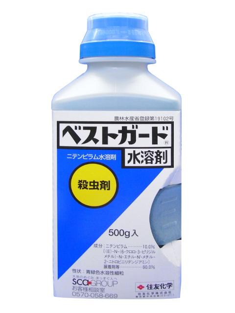 奉呈 殺虫剤 ベストガード水溶剤 500g 2020秋冬新作