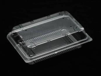 法人名宛限定商品 デンカポリマー OPS嵌合フードパック OP-161 透明 3600枚入