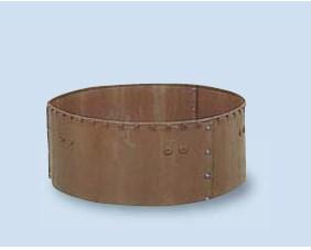 【法人様限定商品】【送料無料】サンポリ 円形堆肥枠 1800X500 H-18