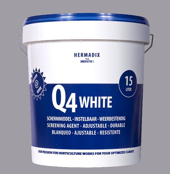 【送料無料】HERMADIX 遮光剤 Q4ホワイト 15L 白色遮光剤