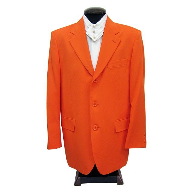 カラオケ衣装,ステージ衣装,ダンス衣装,舞台衣装,発表会,男性,メンズ【シングル3つボタンジャケット】(オレンジ)(S・LL )【送料無料】
