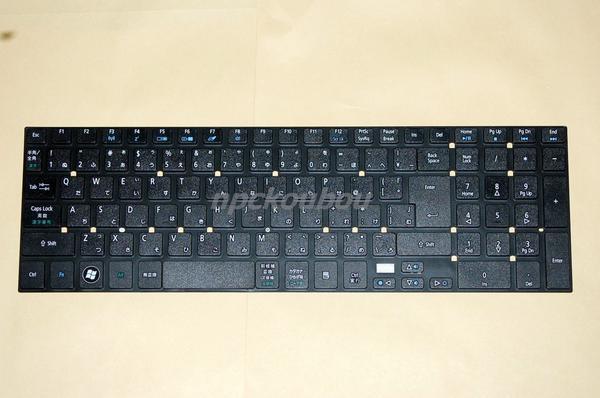 Acer Aspire E1-532 大幅値下げランキング E1-572 ファッション通販 E1-570 V3-571 V3-772G V3-551G用キーボード