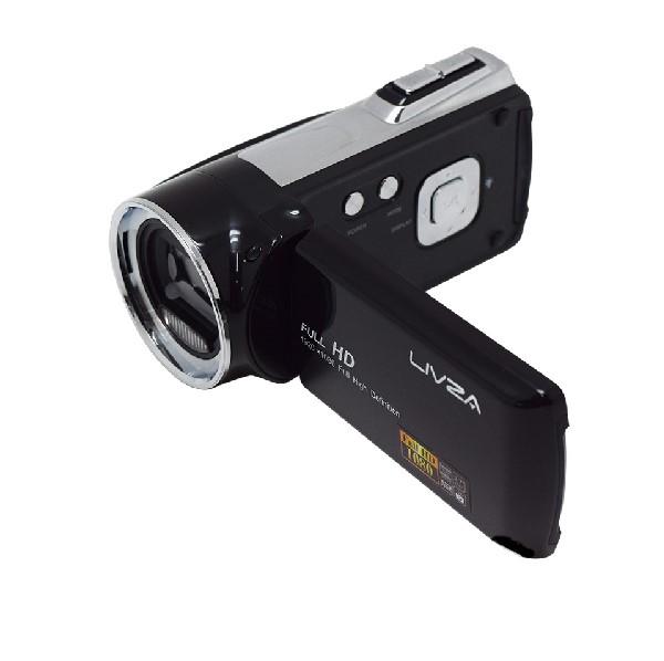【YDKG-kd】【05P03Dec16】【送料無料】フルHD・HDMI対応 デジタルビデオカメラ(LIV-SCDV)