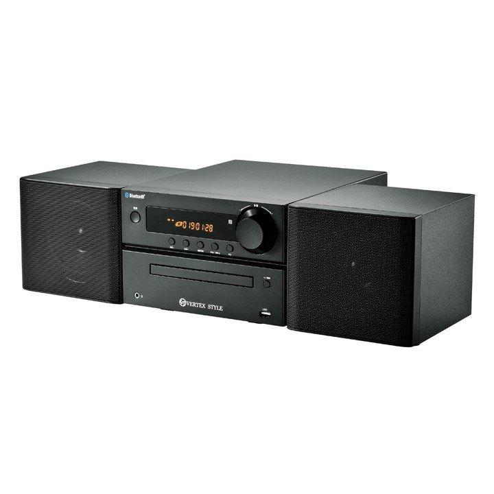 【YDKG-kd】【05P03Dec16】【送料無料】CD/USB/FM/Bluetooth対応・マイクロシステムコンポ(TMC-V002)