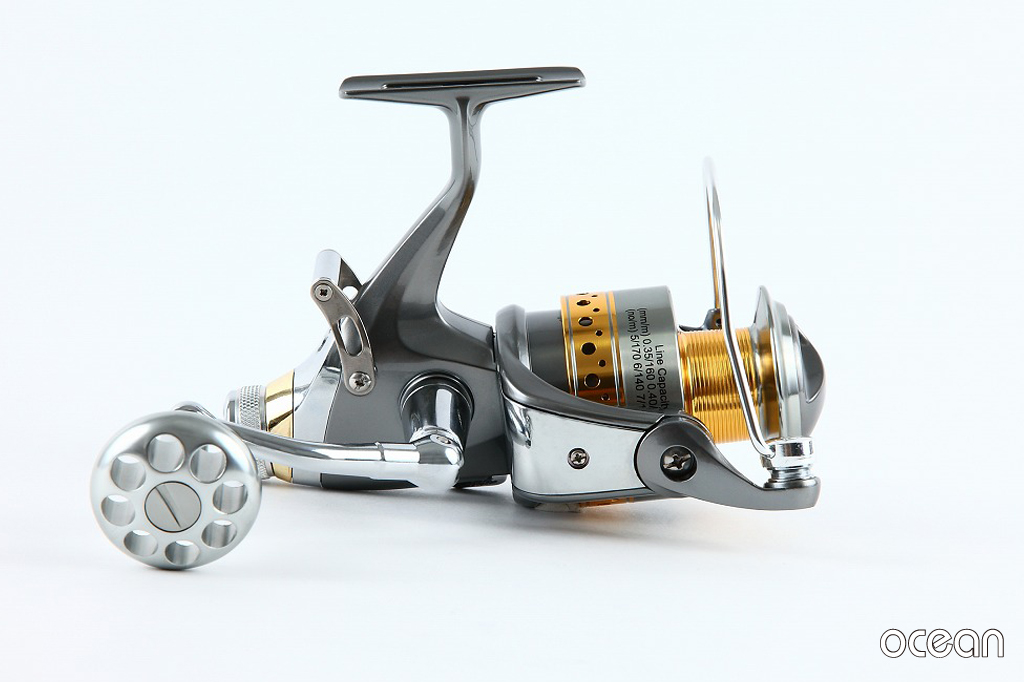 カープフィッシング 鯉釣り BRクラッチ搭載 高性能スピニングリール ocean S3D 50 (6BB+1)