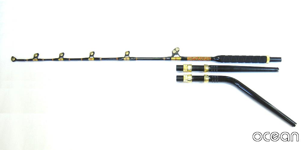 トローリングロッド ROST 6'6-130LBS カーブバット仕様【沖縄県・離島への発送不可】