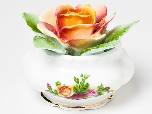 【送料無料】ロイヤルアルバート/ Royal Albert 陶花(オールドカントリーローズ)abert-3お茶のふじい・藤井茶舗