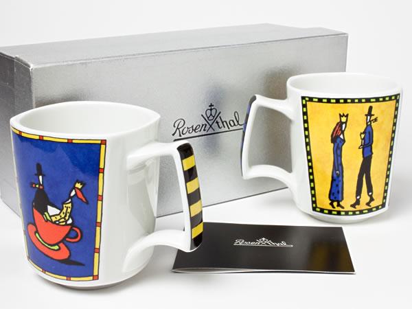 ローゼンタール ラブストーリー ペアマグカップ rosenthal-09お茶のふじい・藤井茶舗