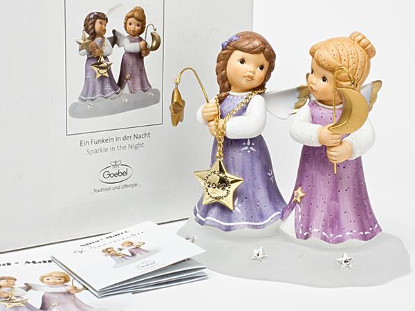 【送料無料】ゲーベル 陶器人形 天使(Nina Marco) goebel-01お茶のふじい・藤井茶舗