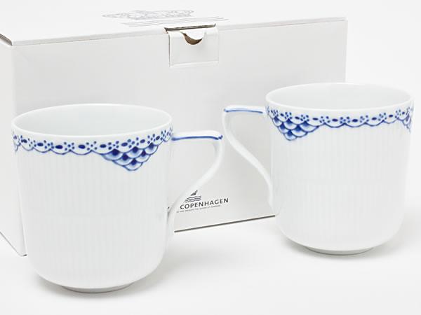 【送料無料】ロイヤルコペンハーゲン プリンセスブルー ペアマグカップ copen-18お茶のふじい・藤井茶舗