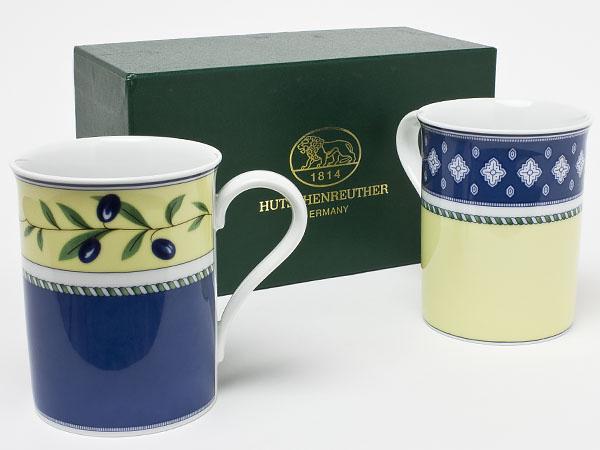 フッチェンロイター メドレービセンザ  メドレーバルデモッサ ペア マグカップ hutsc-5お茶のふじい・藤井茶舗
