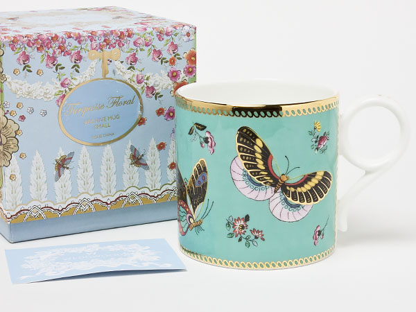 ウェッジウッド アーカイブコレクション マグカップ BUTTERFLY DANCE wedg-20お茶のふじい・藤井茶舗