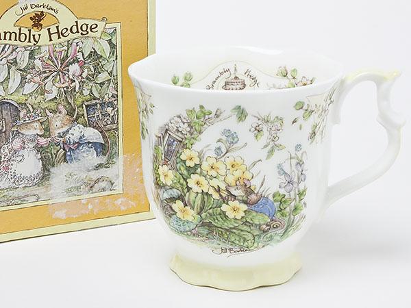 【送料無料】ロイヤルドルトン ブランベリーヘッジSPRING(春)マグカップ doulton-43お茶のふじい・藤井茶舗