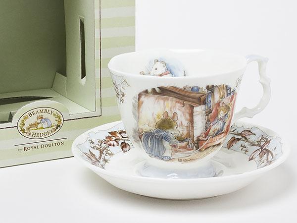 ロイヤルドルトン ブランベリーヘッジ (冬)カップ&ソーサー doulton-21-1お茶のふじい・藤井茶舗