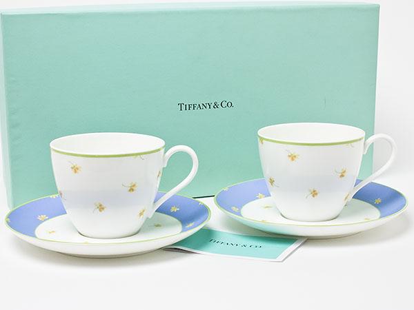 ティファニー valley バレーペア カプ&ソーサー tiffany-53お茶のふじい・藤井茶舗