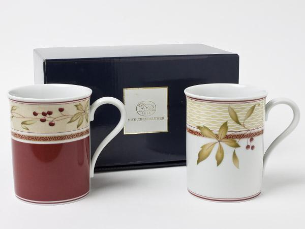 フッチェンロイター イングランドヨーク&マイン ペアマグカップ hutsc-7お茶のふじい・藤井茶舗